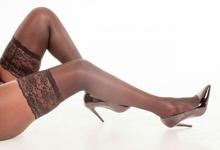 Leggy black beauty
